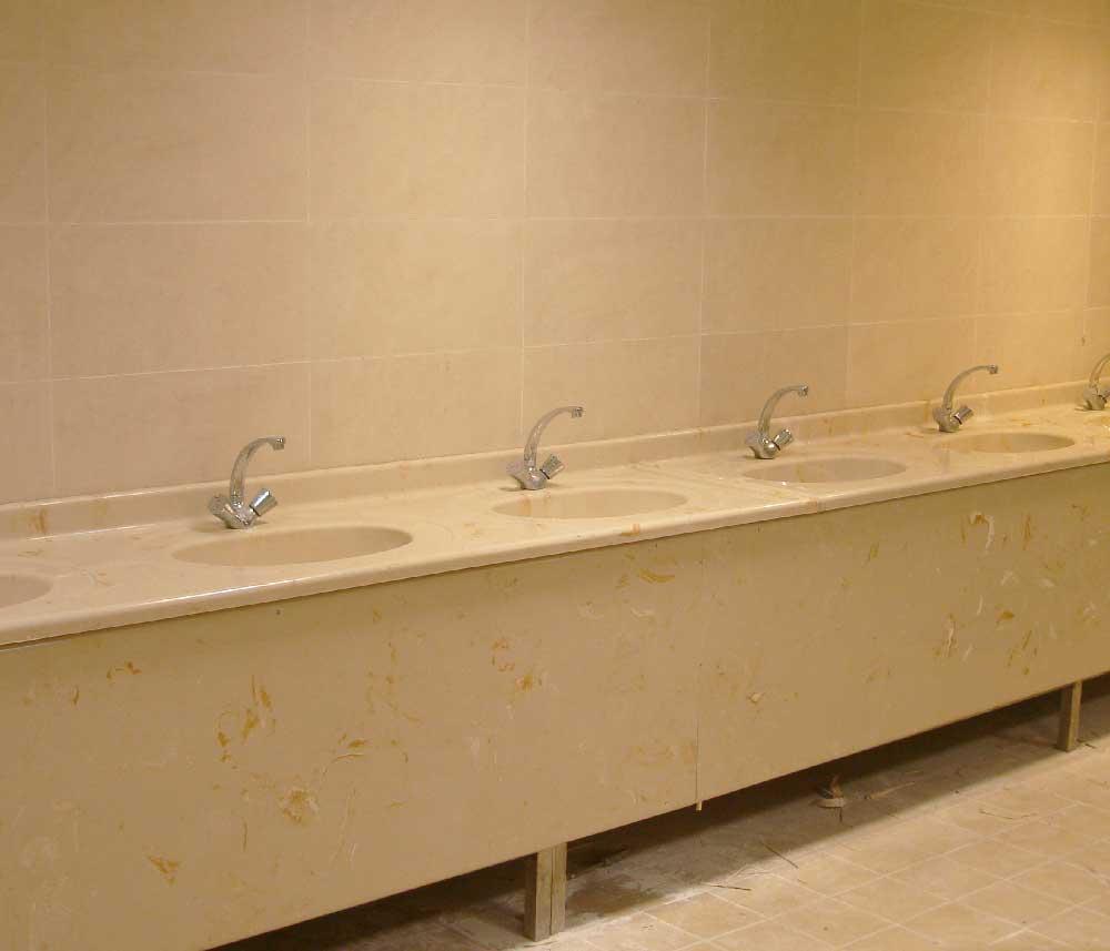 دستشویی-عمومی-ماموت-روشویی--گلد