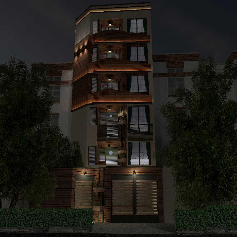 پروژه آپارتمان مسکونی در خرمشهر