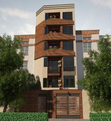 آپارتمان آقای اسماعیلی <br> خدمات ارائه شده:طراحی نما