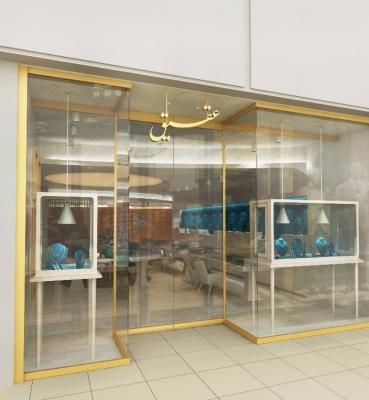 گالری عقیق واقع در ایران مال   <br>خدمات ارائه شده:طراحی و اجرا