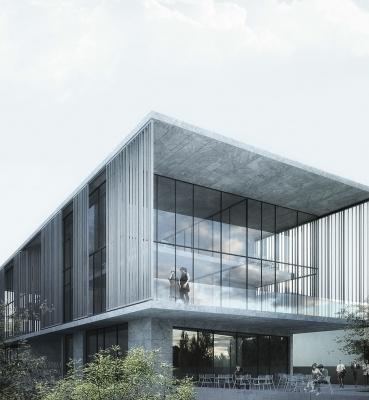 ساختمان اداری سالوین <br>خدمات ارائه شده:طراحی معماری فاز 1