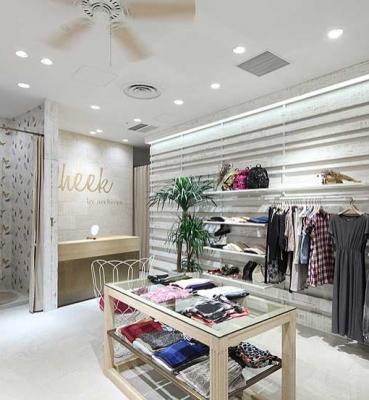 فروشگاه لباس CHEEK   <br>خدمات ارائه شده:طراحی داخلی