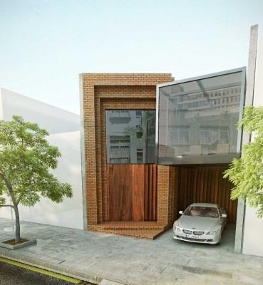 خانه مکعب شیشه ای <br> خدمات ارائه شده :طراحی