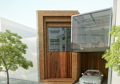 خانه مکعب شیشه ای  خدمات ارائه شده :طراحی