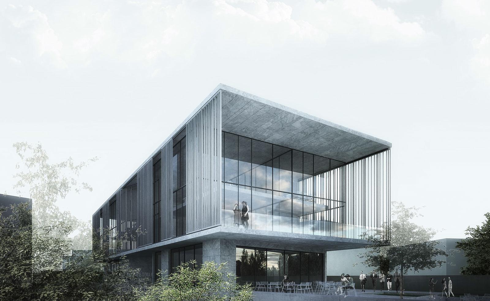 ساختمان اداری سالوین خدمات ارائه شده:طراحی معماری فاز 1