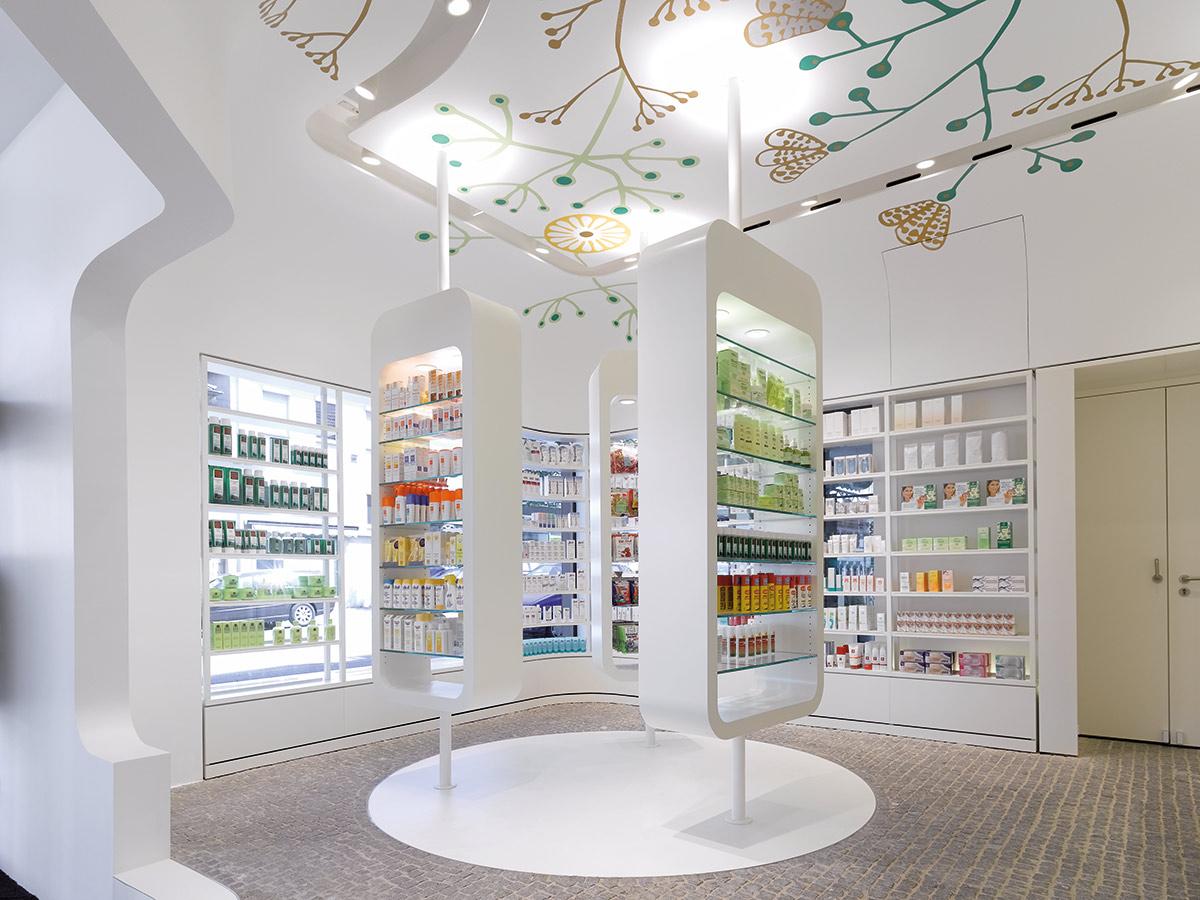 داروخانه شفقخدمات ارائه شده: طراحی داخلی